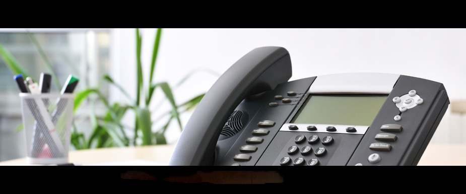 VOIP Voice over IP business phone system.